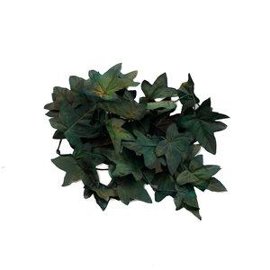 'Unique' Hochwertige künstliche Ahornblätter (dunkelgrün)