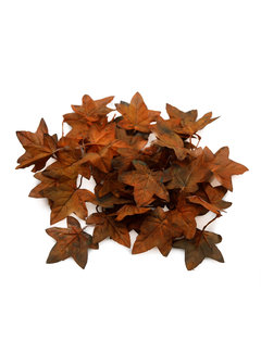 'Unique' High Quality Artificial Maple Leaves (Autumn Brown)