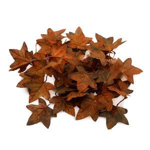 'Unique' Hochwertige künstliche Ahornblätter (Herbstbraun)