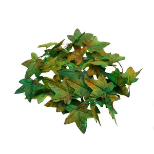 'Unique' High Quality Artificial Maple Leaves (Light Green)