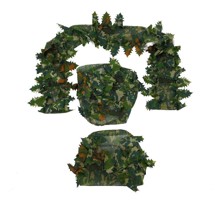 Green Chest Rig Covers (Infrared Treated)