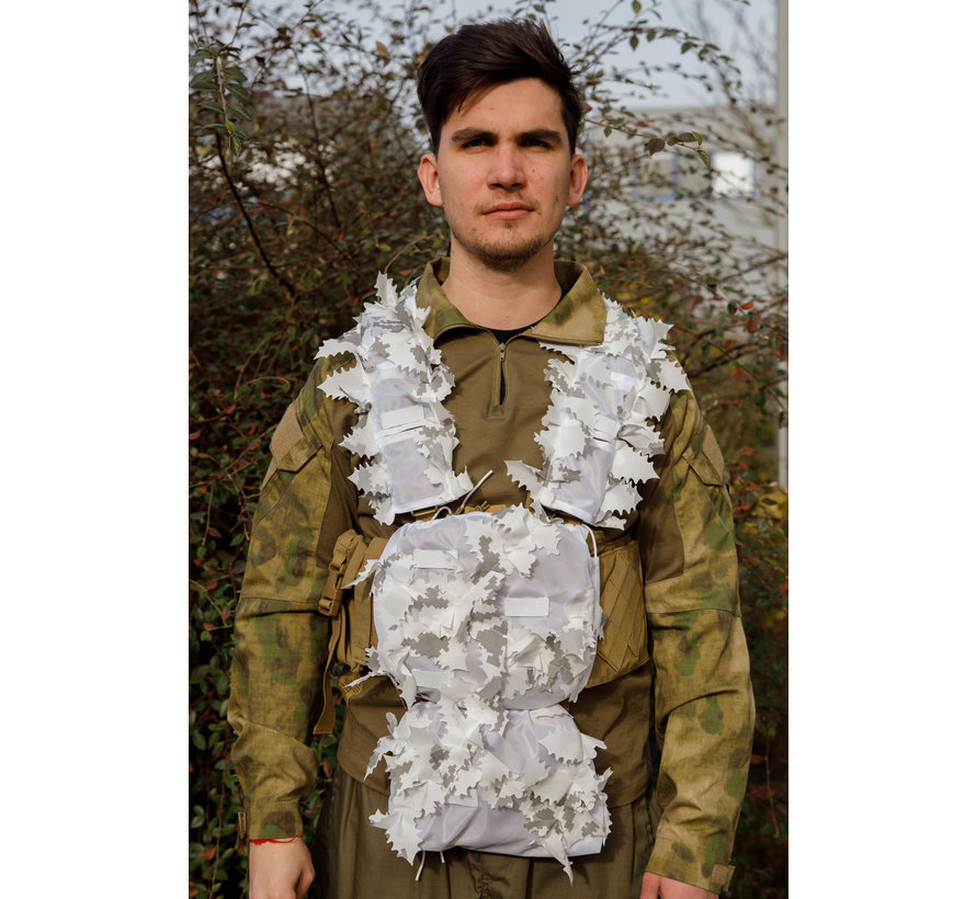 Snow White Chest Rig Covers (Infrared Treated)