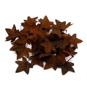 'Unique' Hochwertige künstliche Ahornblätter (Dunkelbraun)