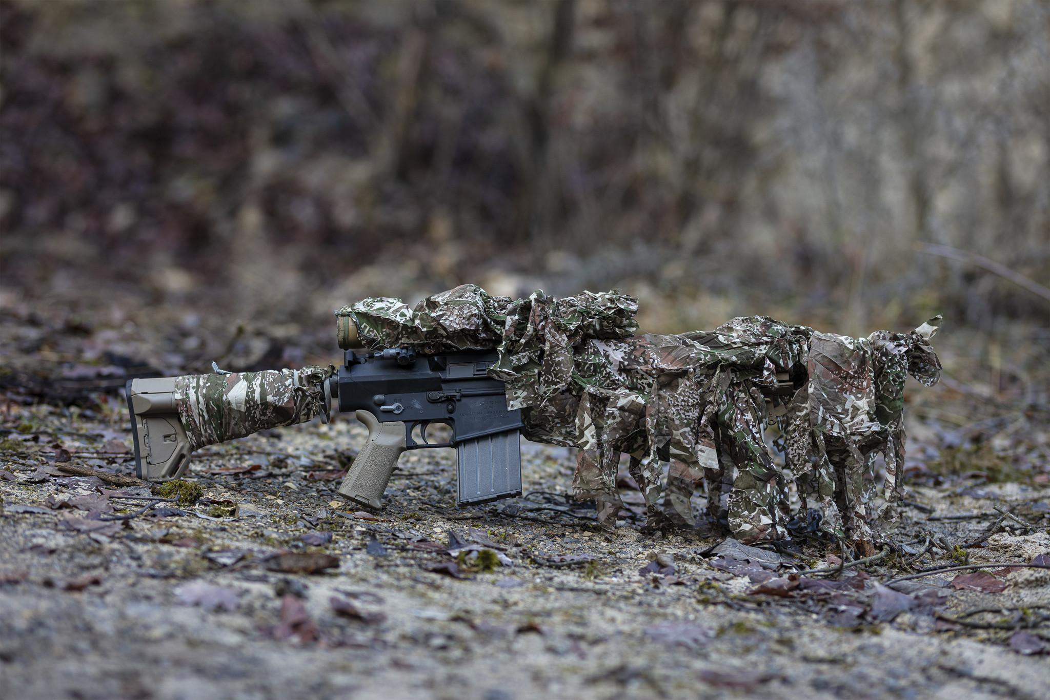 GLOCK Firearms Guns Pistols Rifles Green Camouflage cap