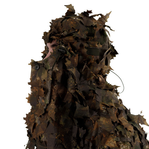 STALKER Dark Brown Leaf Suit