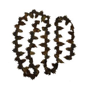 STALKER Crafting Blätter Streifen 3 Meter DUNKELBRAUN