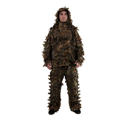 Dark Brown Leaf Suits