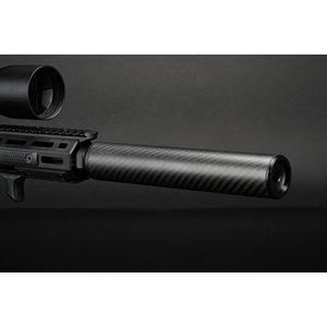 Silverback Carbon Suppressor, Long, 14mm CCW
