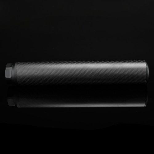 Silverback Carbon Suppressor, Long, 24mm CW