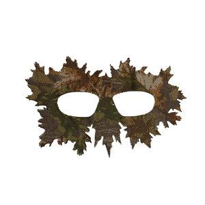 STALKER Ghillie Mask - Brown Oak