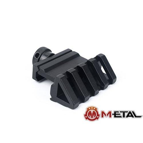 Metal 45° Angle Base Offset Mount For Picatinny