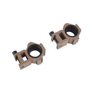 Aim-O Top-Side Rail 25.4-30mm Split Ring Mount DE