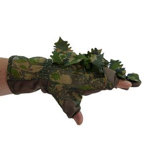 STALKER 3D Leaf Suit Gloves Green