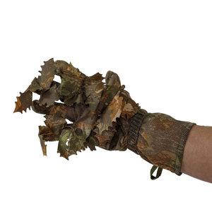 STALKER 3D Leaf Suit Gloves  Brown