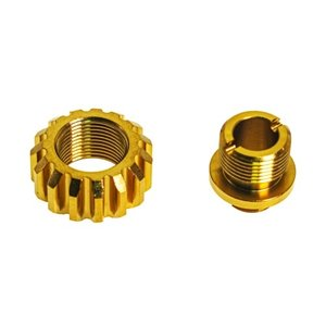 Cow Cow Technology A02 Silencer Adapter - Gold