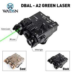 WADSN Tactical PEQ DBAL-A2 Aiming Devices (Green + IR Laser + White Light)
