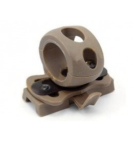 EMERSON Helmet Flashlight Mount - TAN