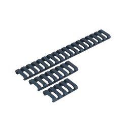 ELEMENT 18-Slot Ladder LowPro Rail Cover - Black