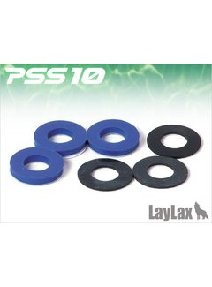 Laylax PSS10 VSR10 Silence Piston Cushion Blue Dämpfende Sorbo Pads