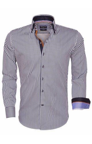 Wam Denim overhemd navy