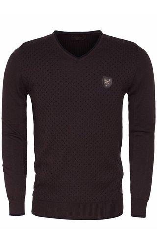 Wam Denim Sweater 77061 Brown