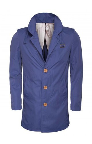 Wam Denim Coat 71208 Indigo