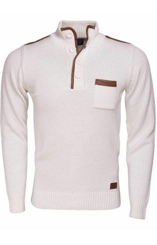 Wam Denim Sweater 77044 Off White