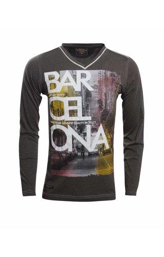 WAM DENIM Shirt 79191 DARK GREEN