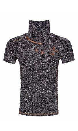 Wam Denim T-Shirt 79380 Black White