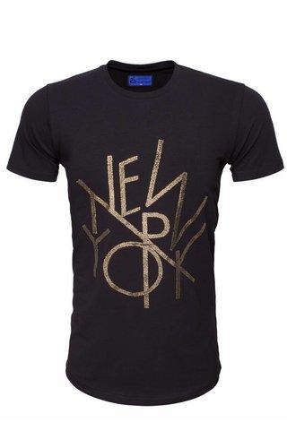 ARYA BOY Arya Boy t-shirt zwart