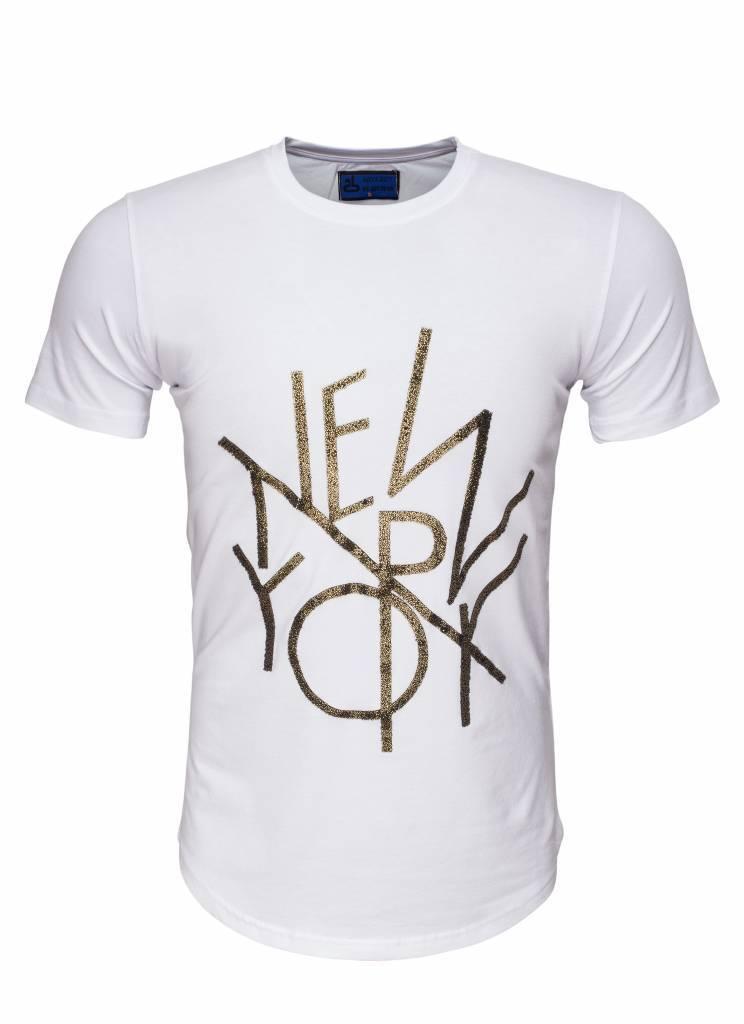Arya Boy T-Shirt 89256 White Maat: 2XL
