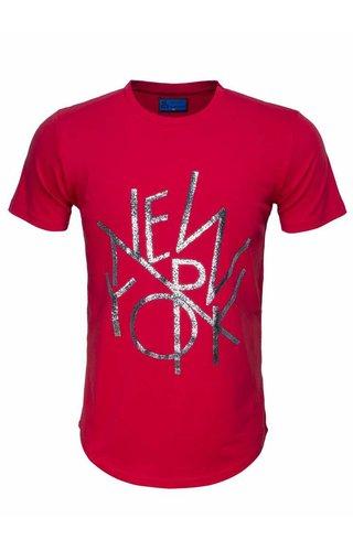 ARYA BOY Arya Boy t-shirt rood