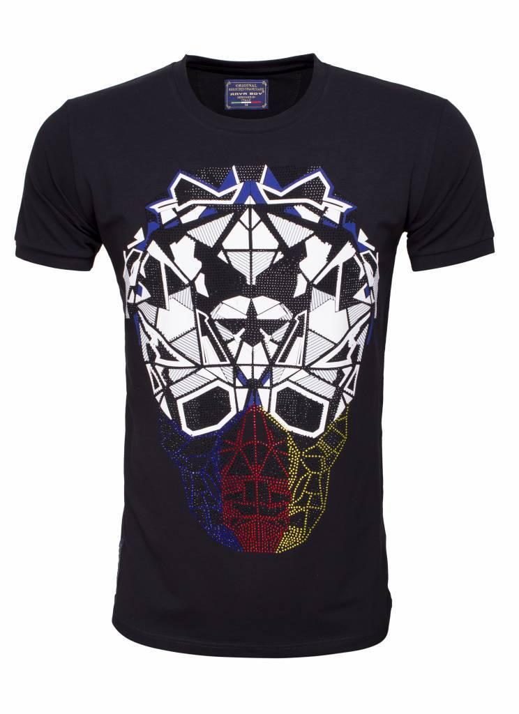 Arya Boy T-Shirt 89262 Black Maat: 2XL