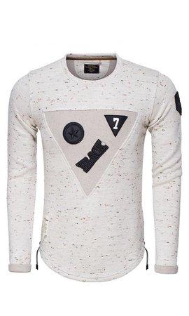 Wam Denim Sweater 76162 Off White