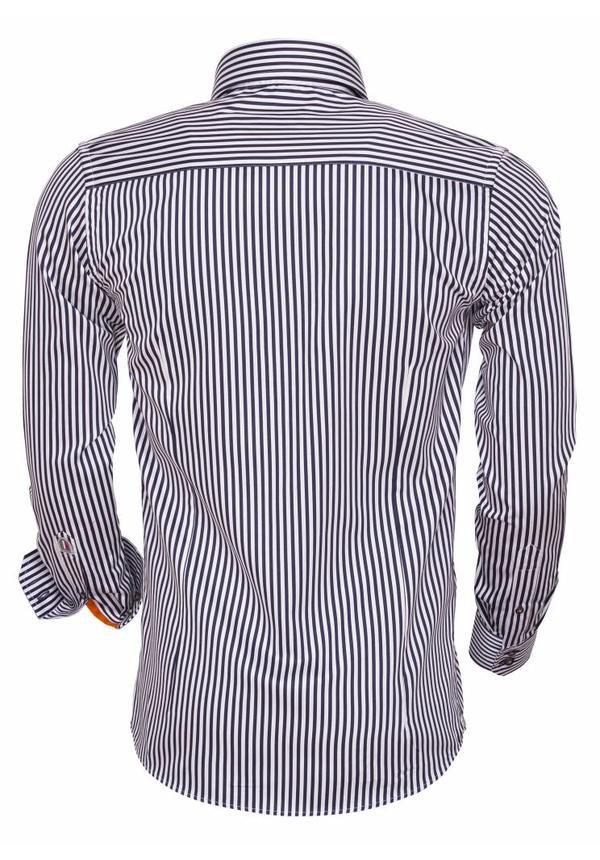 Shirt Long Sleeve 75458 Navy