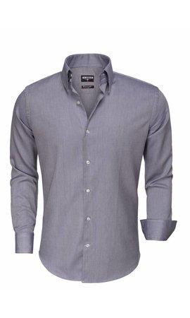 Wam Denim Overhemd Lange Mouw 75517 Navy