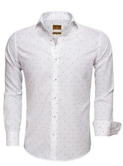 Wam Denim Shirt Long Sleeve 75519 White