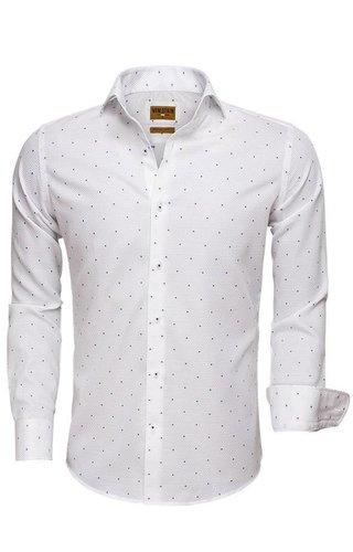Wam Denim Overhemd Lange Mouw 75519 White