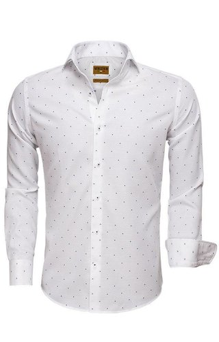 Wam Denim Shirt Long Sleeve 75519 White