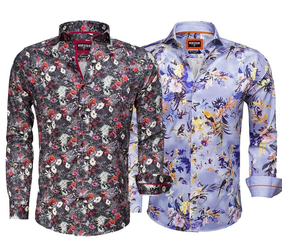 Bloemetjes Overhemd.Wam Denim Blogs 4 Redenen Waarom Bloemetjes Overhemden