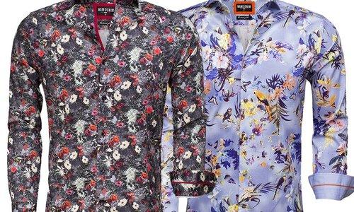 4 redenen waarom bloemetjes overhemden cool zijn