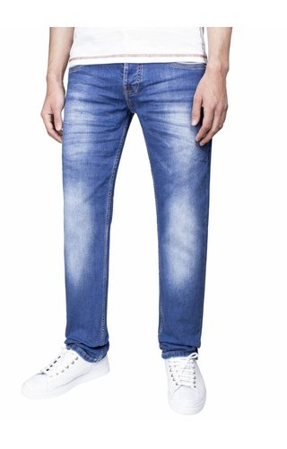 Wam Denim Jeans 72065 Dark Blue L34