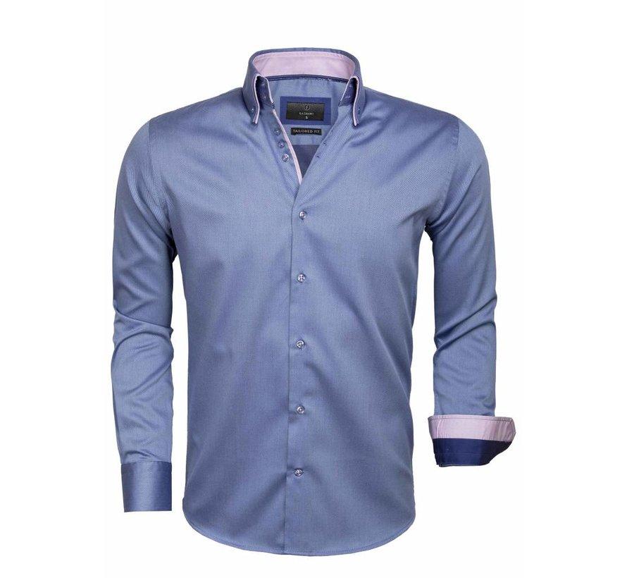 Shirt Long Sleeve 65004 Cenova Dark Blue