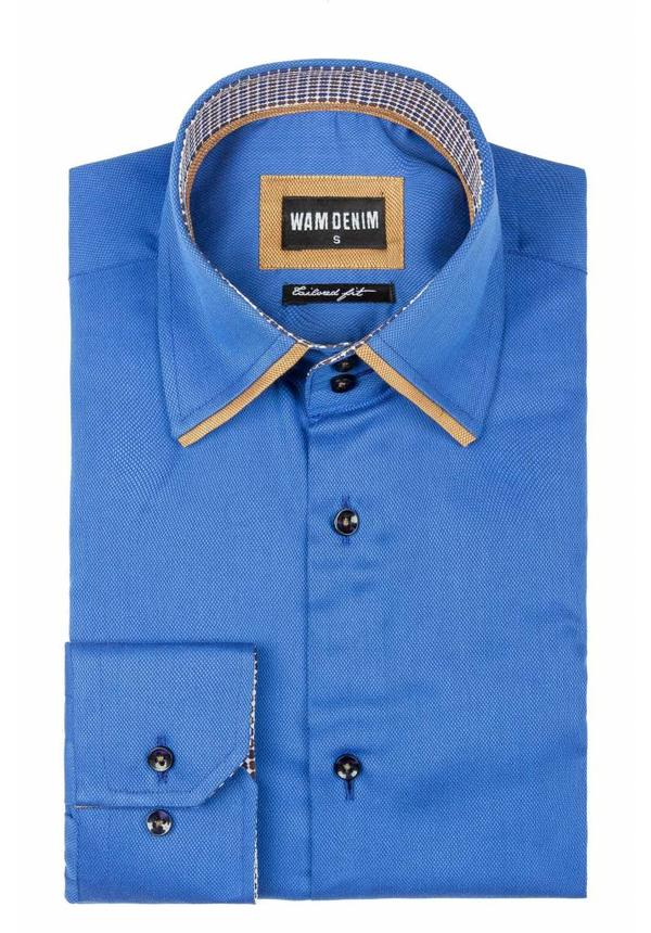 Overhemd Lange Mouw 75559 Isernia Petrol