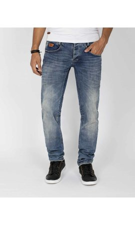 Wam Denim Jeans 72129 Moddel Light Navy
