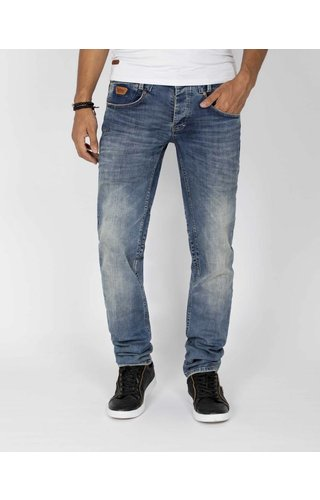 Wam Denim jeans Moddel licht navy - Regular fit