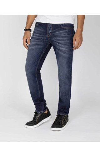 Wam Denim jeans Lamin navy - Slim fit