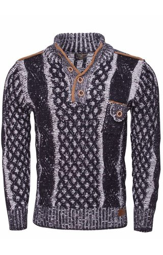Wam Denim Sweater 77503 Navy
