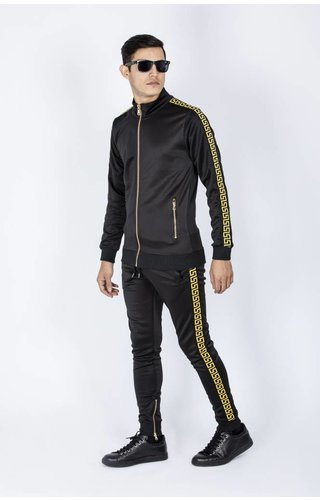 GAZNAWI Joggingsuit Salt Lake City 66058 Black