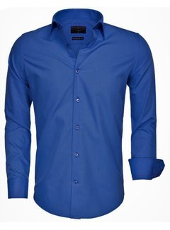 Gaznawi Overhemd Lange Mouw 65008 Light Navy